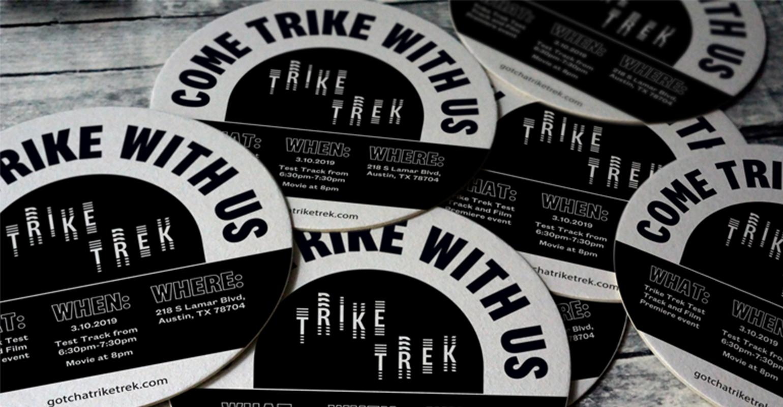 Trike Trek coasters